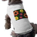 Cuaderno de las margaritas camisa de mascota