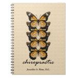 Cuaderno de las mariposas de la quiropráctica