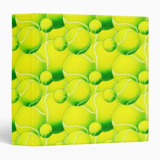 """Cuaderno de las pelotas de tenis carpeta 1 1/2"""""""