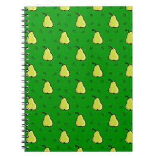 Cuaderno de las peras