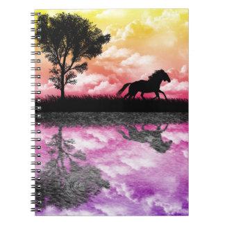 Cuaderno de las reflexiones del caballo