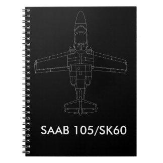 Cuaderno de los aviones de SAAB 105/SK 60