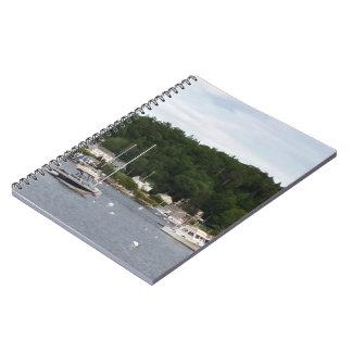 Cuaderno de los barcos del puerto de Boothbay (80