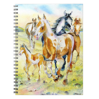 Cuaderno de los caballos salvajes