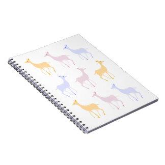 Cuaderno de los ciervos del invierno