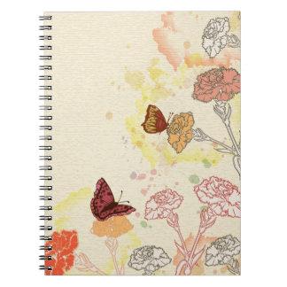Cuaderno de los claveles y de las mariposas de la