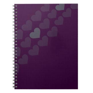 Cuaderno de los corazones