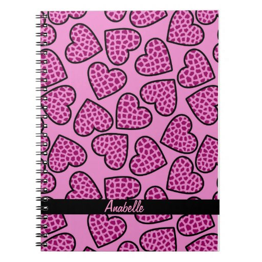 Cuaderno de los corazones de la jirafa