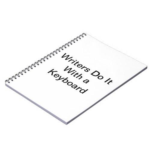 Cuaderno de los escritores