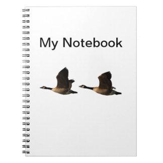 Cuaderno de los gansos del vuelo