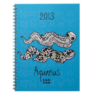 """""""Cuaderno de los Geckos del leopardo del zodiaco d"""