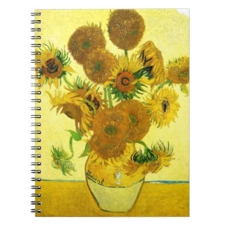 Cuaderno de los girasoles de Van Gogh