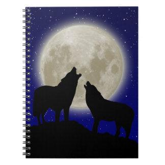 Cuaderno de los lobos del grito