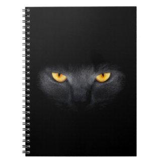 Cuaderno de los ojos de gato