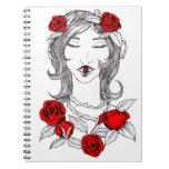 cuaderno de los ojos y de los rosas