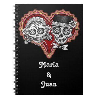 ¡Cuaderno de los pares del cráneo del azúcar - Cuaderno