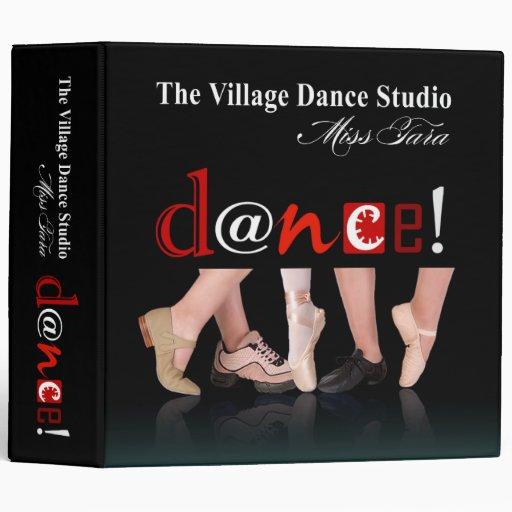 Cuaderno de los pies del baile para Angie
