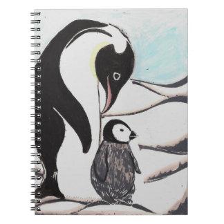 Cuaderno de los pingüinos