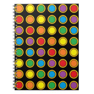 Cuaderno de los puntos de Polk del oro y del arco