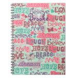 Cuaderno de los refranes del chica de la diversión
