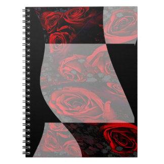 cuaderno de los ribbonredroses