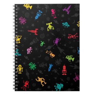 Cuaderno de los robots