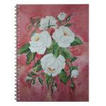 Cuaderno de los rosas blancos