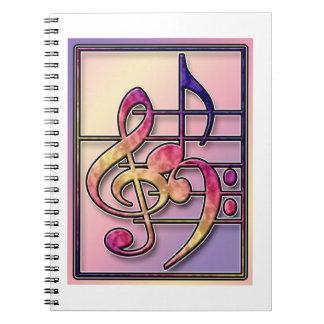 Cuaderno de los símbolos de música 2