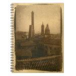 Cuaderno de los tejados de Bolonia