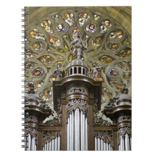 Cuaderno de los tubos de órgano