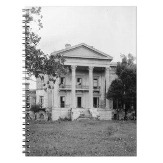 Cuaderno de Luisiana de la plantación de la arbole