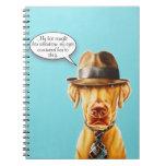 Cuaderno de lujo caprichoso del perro