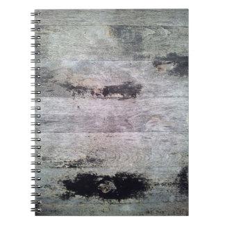 Cuaderno de madera natural 2 de la textura