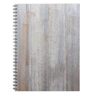Cuaderno de madera resistido