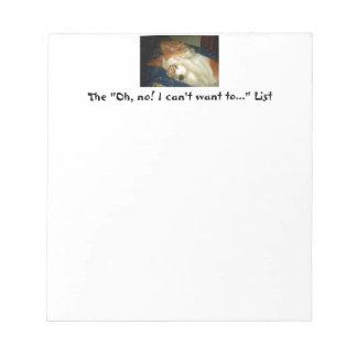 Cuaderno de notas con los ojos de ocultación del p