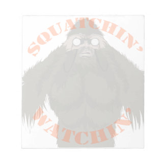 Cuaderno de notas del amor de Squatchin Watchin Blocs
