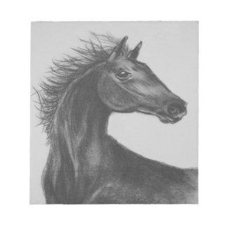 """Cuaderno de notas del caballo de la """"belleza"""""""