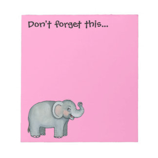 Cuaderno de notas del elefante libretas para notas