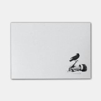 Cuaderno de notas disponible de la pluma del post-it® notas