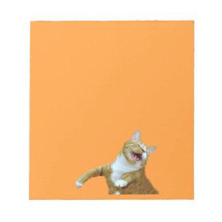 Cuaderno de notas feliz Gooey de la danza Bloc De Notas