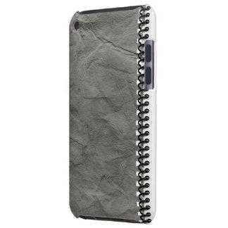 cuaderno de papel viejo con el caso espiral del iP iPod Touch Case-Mate Fundas
