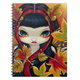 """Cuaderno de """"pocas hojas de otoño"""""""