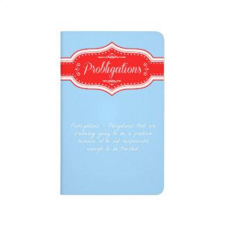 Cuaderno de Probligations.  (Obligaciones