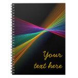 Cuaderno de punta del arco iris