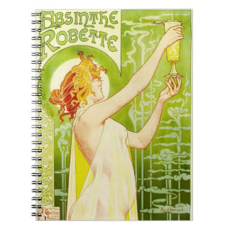 Cuaderno de Robette del ajenjo de Alfonso Mucha