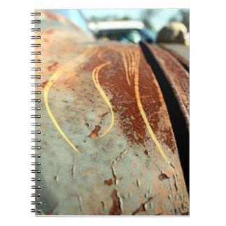 Cuaderno de Rod del moho