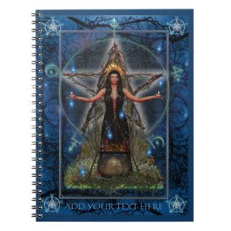 Cuaderno de Spellweaver (azul de encargo)