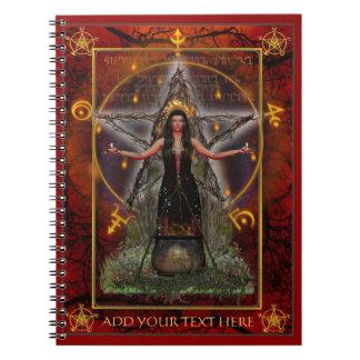 Cuaderno de Spellweaver (rojo de encargo)