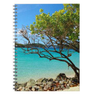 Cuaderno de St. John USVI de la bahía del canela