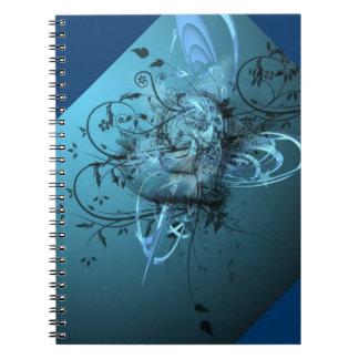 Cuaderno de un corazón azul